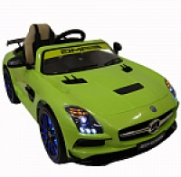 Электромобиль RiverToys Mercedes-Benz SLS A333AA VIP Зеленый