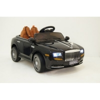 Электромобиль RiverToys Rolls Royce C333CC Черный