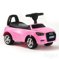 Машина-Толокар RiverToys AUDI JY-Z01A Розовый