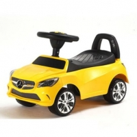 Машина-Толокар RiverToys Mercedes-Benz A888AA Желтый